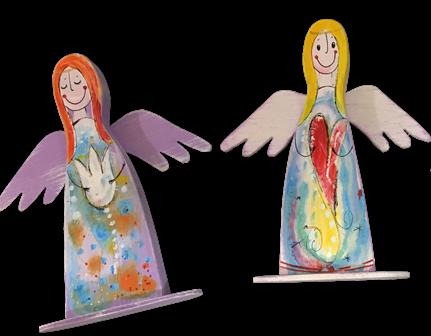 anjel stojaci suvenír darček
