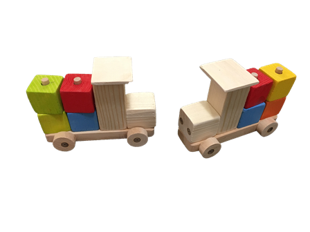 autícko kockové malé darček hračka suvenír