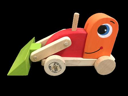 buldozer hračka, suvenír darcek