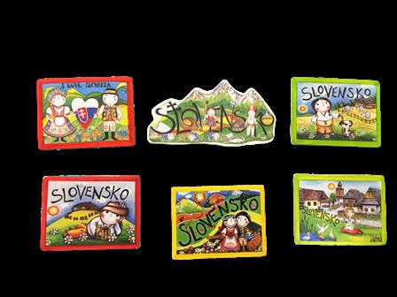 magnetka krasy slovenska