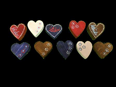 srdénko ľudové, srdce, magnet
